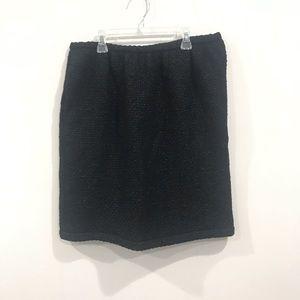 Ralph Lauren PURPLE Label Black wool Skirt